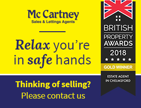 Get brand editions for McCartney Estate Agents, Chelmsford