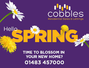 Get brand editions for Cobbles Estate Agents, Guildford