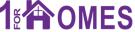 1 For Homes, Renfrew logo