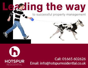 Get brand editions for Hotspur Residential, Alnwick