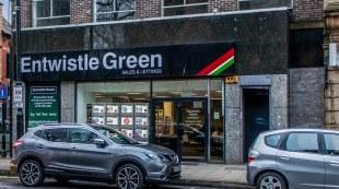 Entwistle Green, Burybranch details