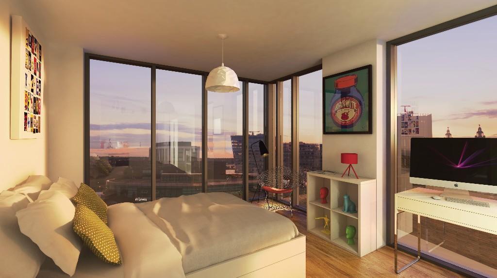 1 bedroom flat for sale in X1 Liverpool One Studio ...