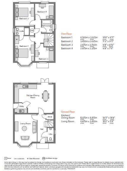 Keats Floorplan