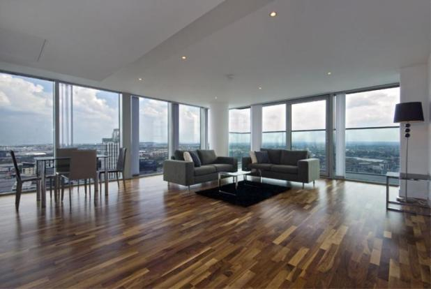 3 bedroom apartment to rent in 22 Marsh Wall, Canary Wharf ...
