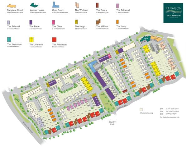 Paragon at Great Kneighton New Homes Development by Bovis