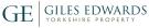 Giles Edwards Yorkshire Property, Masham branch logo