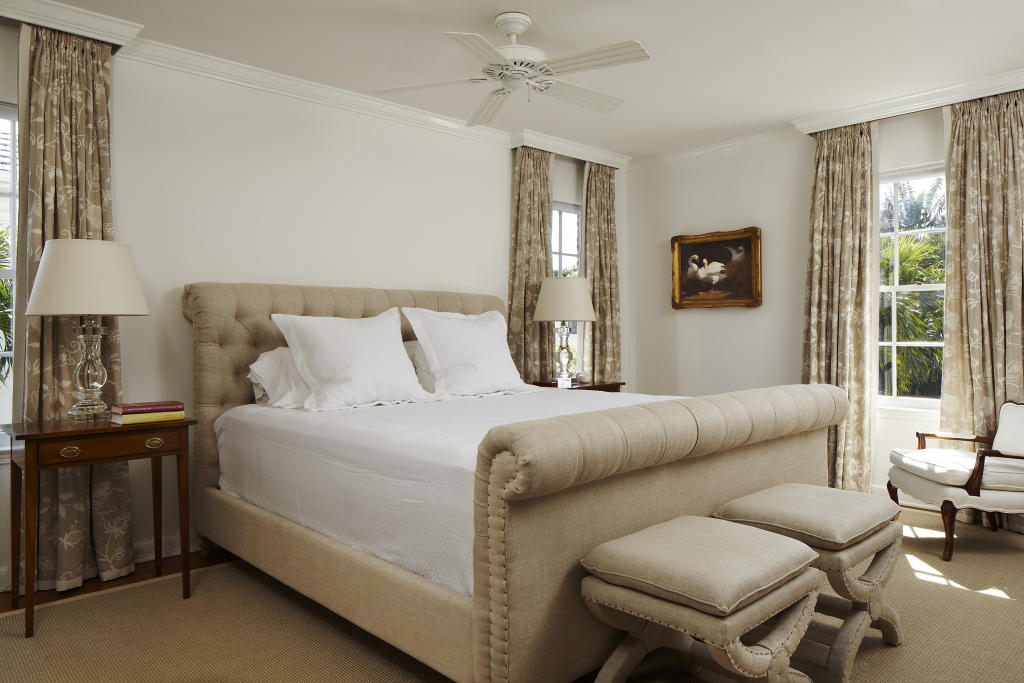 White And Beige Bedroom: Beige White Ceiling Fan Design Ideas, Photos & Inspiration