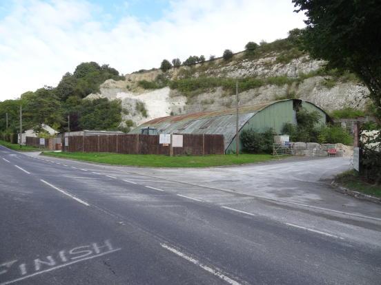 Land For Sale In Somborne Chalk Quarry Lower Brook Kings
