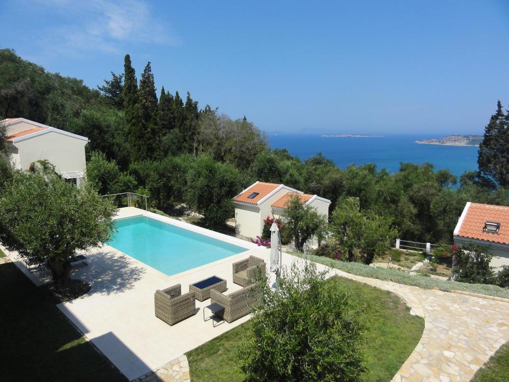 7 bed new development in Afionas, Corfu...