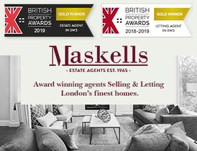 Get brand editions for Maskells Estate Agents Ltd, London