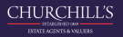 Churchill's Estate Agents, Brixham branch logo