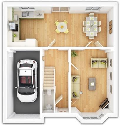 The Downham Ground Floor Plan