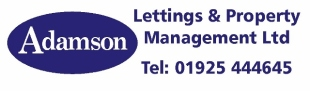Adamson Lettings & Property Management Ltd , Warringtonbranch details