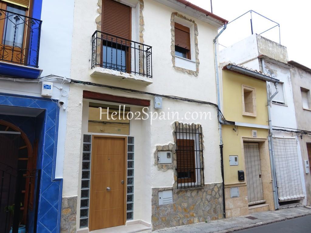 Town House in Pego, Alicante, Valencia