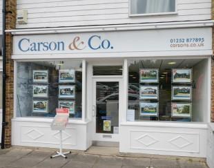 Carson & Co, Yateleybranch details