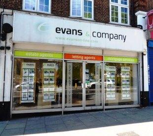 Evans & Company, Greenford/Hayes - Salesbranch details