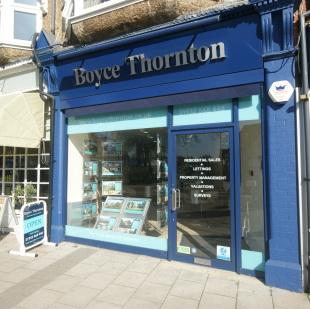 Boyce Thornton, Cobhambranch details