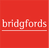 Bridgfords, Warrington logo