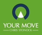 YOUR MOVE Chris Stonock Lettings, Houghton Le Spring branch logo