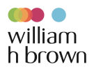 William H. Brown, Rushden branch logo