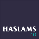 Haslams Estate Agents, New Homes logo