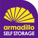 Armadillo Self Storage, Armadilio Plymouth branch logo