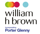 William H. Brown Incorporating Porter Glenny, Rainham branch logo