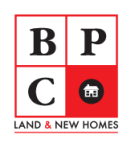 BPC Land & New Homes logo