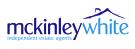 McKinley White, Exeter branch logo