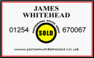 James Whitehead Professional Estate Agent, Blackburn logo