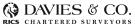 Davies & Co. Chartered Surveyors, Northamptonshire logo
