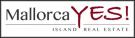 Mallorca YES , Balearic Islands logo