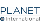 Planet International, London logo