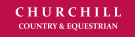 Churchill Country and Equestrian, Wisborough Green logo