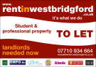 Rent In West Bridgford, Nottingham details