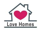Love Homes, Motherwell branch logo
