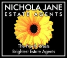 Nichola Jane Estate Agents, Wrexham logo