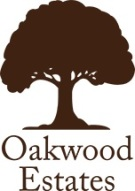 Oakwood Estates, Burnham logo