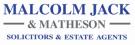 Malcolm Jack & Matheson, Dunfermline details