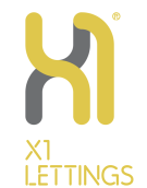 X1 Lettings, Salford branch logo