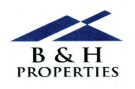 B&H Properties, London  logo
