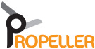 Propeller Lettings, Thingwall logo
