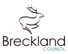 Breckland Council, Dereham logo