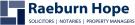 Raeburn Hope Solicitors & Letting Agents, Helensburgh branch logo