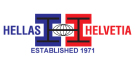 Hellas-Helvetia, London logo
