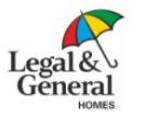 Legal & General Homes Communities logo