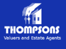 Thompsons Estate Agents, Porthcawl logo