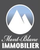 Mont Blanc Immobilier Les Houches, Les Houches logo