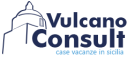 VulcanoConsult eolie lipari island real estate, Lipari logo