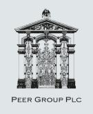 PEER GROUP PLC, London logo
